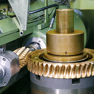 Worm Gear Hobbing Machine